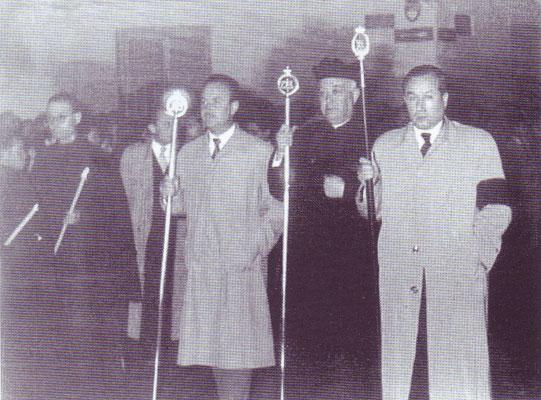 Señores García Vico, Puentes Peña y Cantero