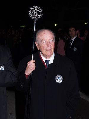 D. José García Vico, uno de los fundadores de la Cofradía Estudiantil