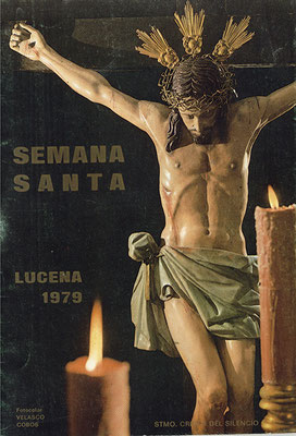 Cartel Anunciador de la Semana Santa de 1.979