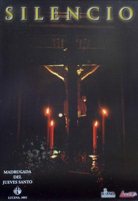 Cartel del Jueves Santo 2.002