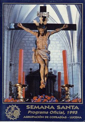 Cartel Anunciador de la Semana Santa de 1.995
