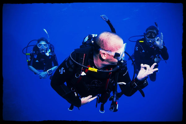 Learning to scuba dive  with Gozo Individual Diving