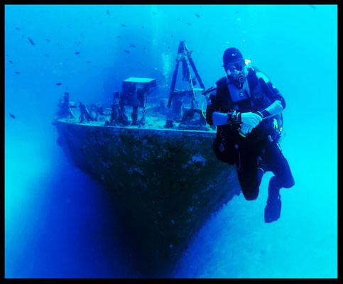 P31 Wreck in Comino Gozo