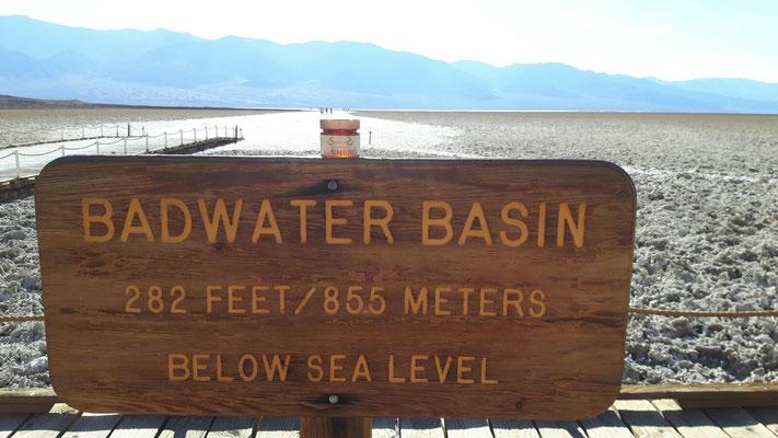 still Badwater Basin