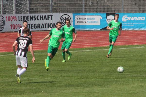 Spiel bei der SG Wattenscheid 09