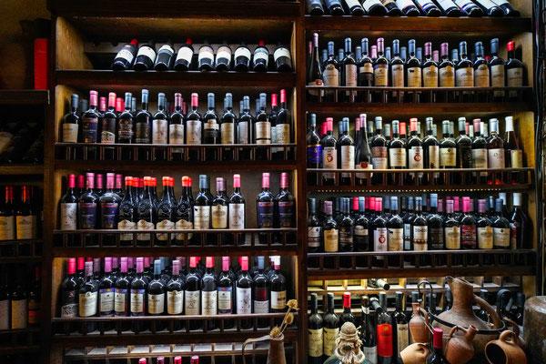 ワインの売り場