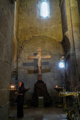 祭壇正面のキリスト像