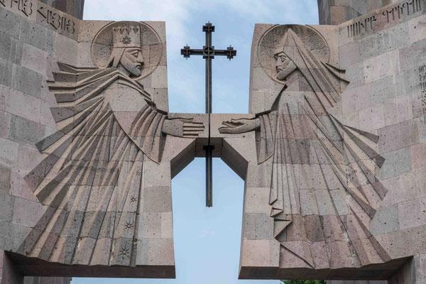 アルメニア正教本山エチミアジン大聖堂が正面入り口