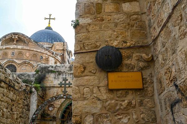 第8の留があるコプト教教会。