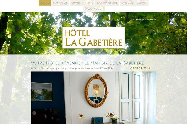 Création de site internet Hotel la Gabetière