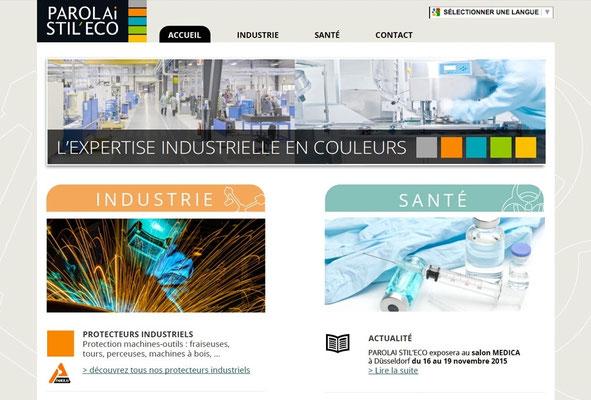 Création du site web Parolai Stileco