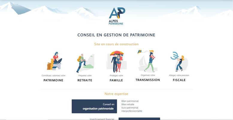Site Jimdo Alpes Patrimoine Grenoble