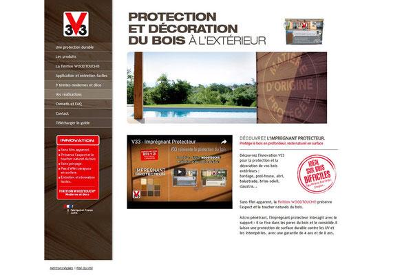 Création de site web V33