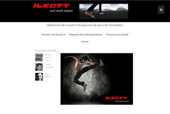 Création du site Ilkott