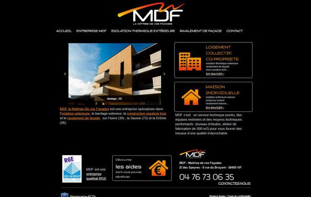 Création de site web MDF