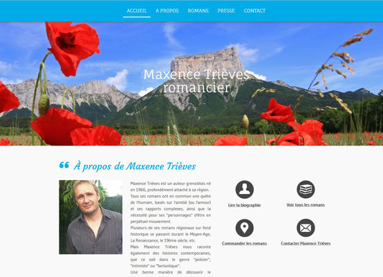 Création site web Maxence Trièves
