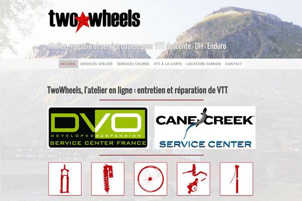 Site internet Two wheels