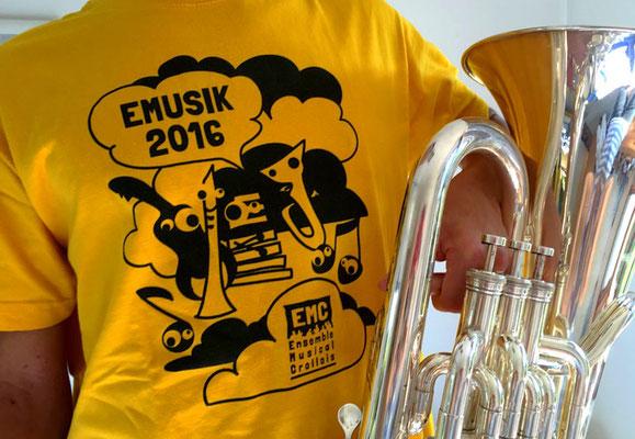 Création de visuel pour l'association Ensemble Musical Crollois