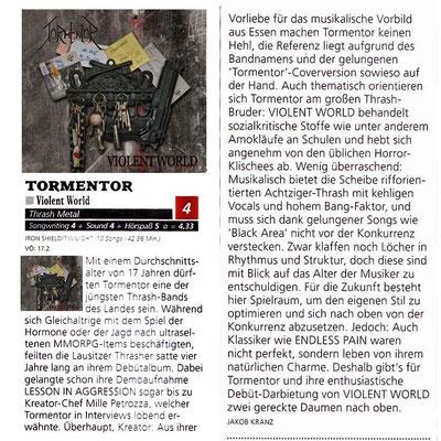 Metal Hammer Review, 2012