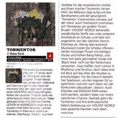 Metal Hammer Review, 2012