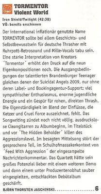 Rock Hard Review, 2012