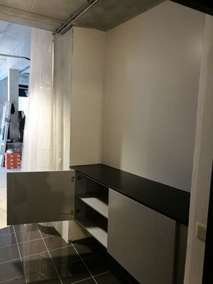 Aluminium kleur kast, MDF, Penninkhof Mode Zwolle