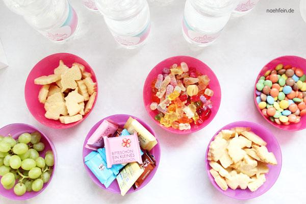 süße Süßigkeiten für einen Kindergeburtstag - nähfein