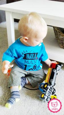 Baby T-Shirt zum 1. Geburtstag - nähfein
