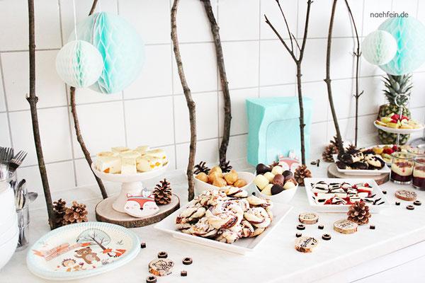 Kindergeburtstag Wald Party zum 1. Geburtstag - nähfein