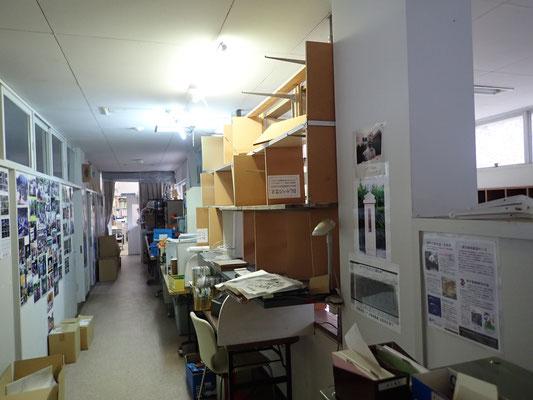 整理前の廊下の様子