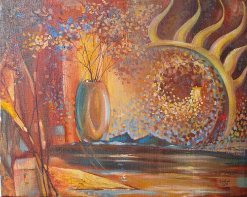 """""""Осень"""", х. м., 45Х56, 2016г.  В НАЛИЧИИ"""