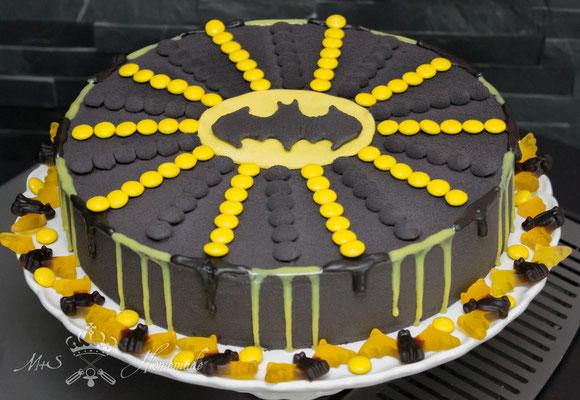 Batman- Torte zum 4. Geburtstag meines Neffen