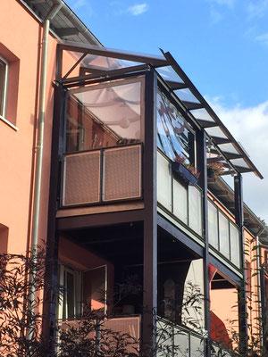 Außenansicht Balkon
