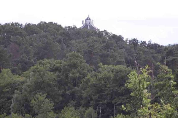 """Blick von der """"Annemarie"""" auf den Marienberg - Wasserturm - Strausberg"""
