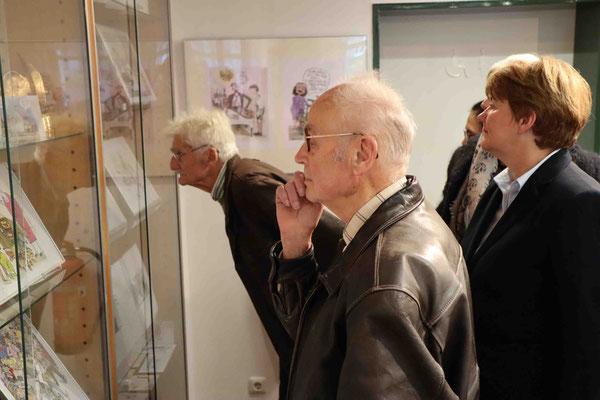 Karikaturistin Barbara Henniger - Ausstellung vom 15.11.2018 -         31.03.2019 - Stadtmuseum Strausberg - August-Bebel-Straße 33