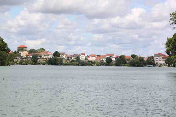 """Blick von der """"Annemarie"""" Panorama Strausberg"""
