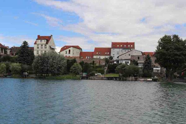 """Blick von der """"Annemarie"""" - Panorama Strausberg"""