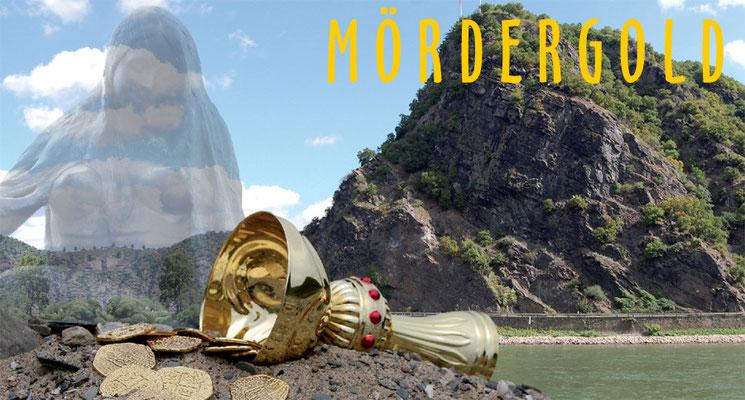 """Buchtitel """"Mördergold"""", Heimat-Krimi von Stefan Nick"""