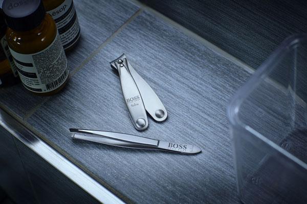 Stilllife Aufnahme eines Nagelknipsers
