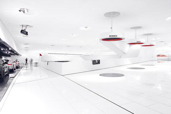 Architekturfotografie Porschemuseum Stuttgart