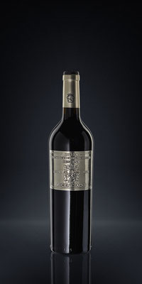 Weinflasche | rot