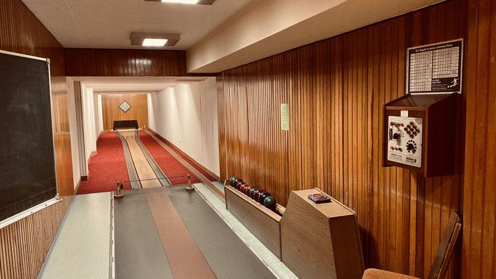 Restaurant Gesellenhaus - 2 Kegelbahnen für Clubs & Jedermann