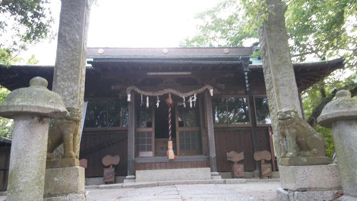 男木島の安産の神様、豊玉姫神社