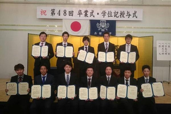 平成27年度 卒業生