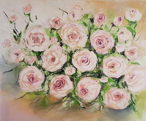 Verkauft Acryl auf Leinwand 120 x 100 cm