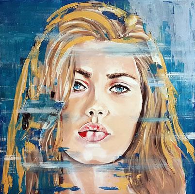 Kimberley Acryl auf Leinwand 100 x 100 cm