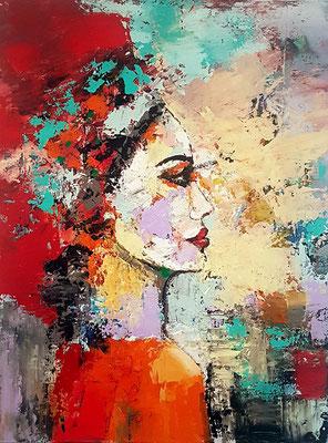 Carla Acryl auf Leinwand 60 x 80 cm