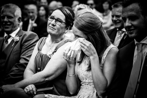 Emotie foto's bruiloft