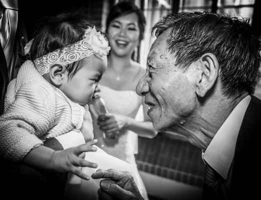 Emotie foto's trouwen