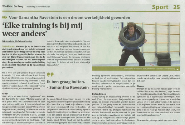 Weekblad de Brug, woensdag 15 november 2017